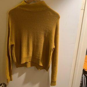 Old navy mustard yellow sweater